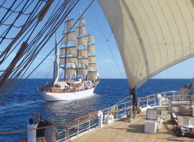 Sea Cloud Windjammertreffen
