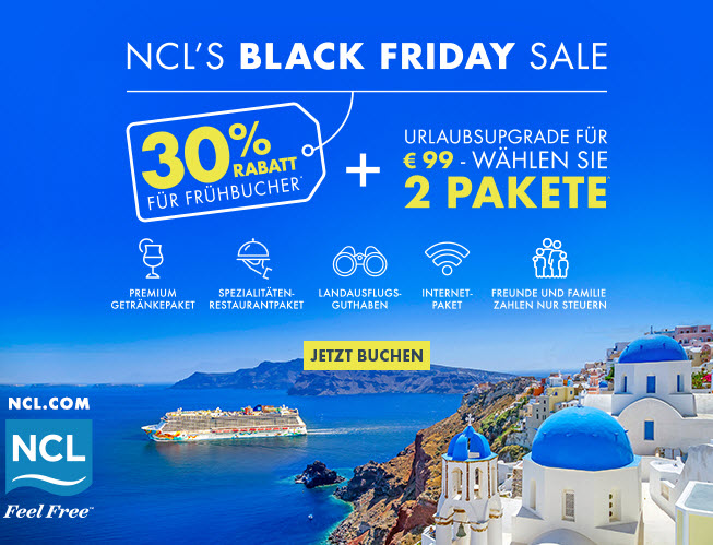 NCL's Black Friday Sale